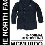 THE NORTH FACE(ザノースフェイス)McMurdo Parka(マクマードパーカ)を非公認カスタムしてみる。